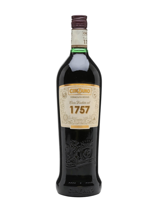 Cinzano 1757 Rosso Vermouth Litre The Whisky Exchange