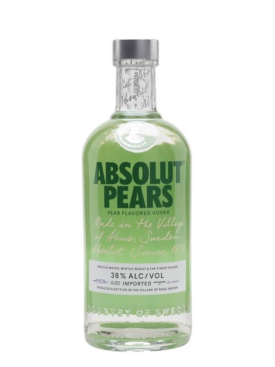 Absolut Pears Vodka Buy From World S Best Drinks Shop