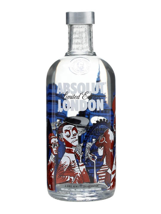 Absolut London Vodka Jamie Hewlett Buy From World S