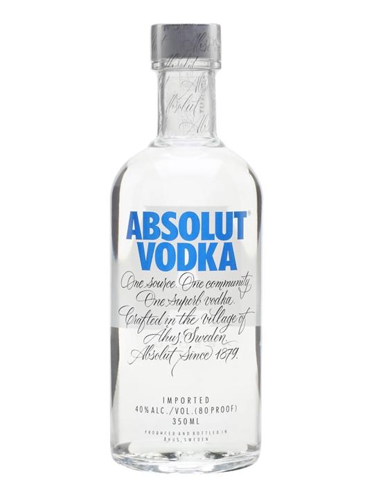 Absolut Vodka - Half Bottle : Buy from World's Best Drinks ...
