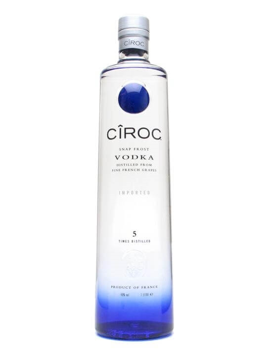 Ciroc Vodka / Litre
