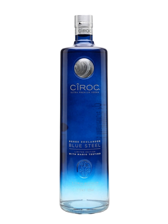 Ciroc Derek Zoolander Blue Steel / Light Up Magnum