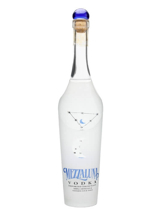 Mezzaluna italian vodka buy from world 39 s best drinks shop for Italian cocktails with vodka