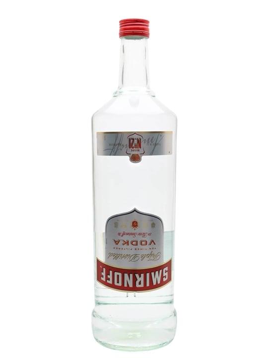 Smirnoff Red Vodka - Large Bottle : Buy from World's Best ...