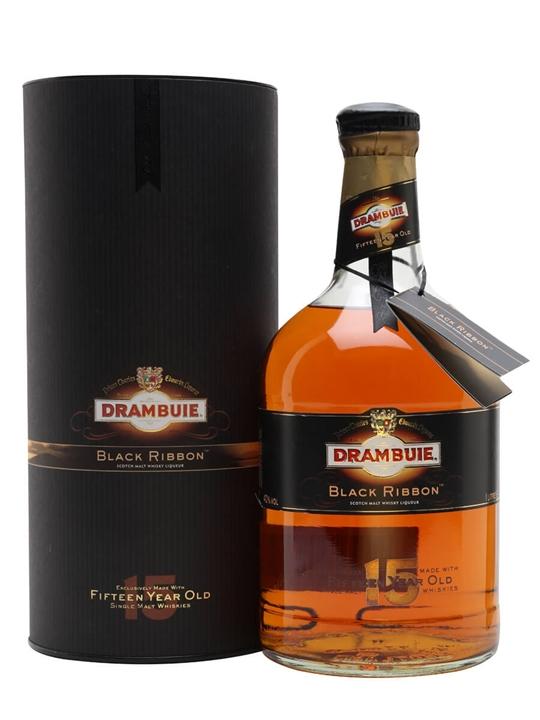 Drambuie Black Ribbon Whisky Liqueur 15 Year Old The