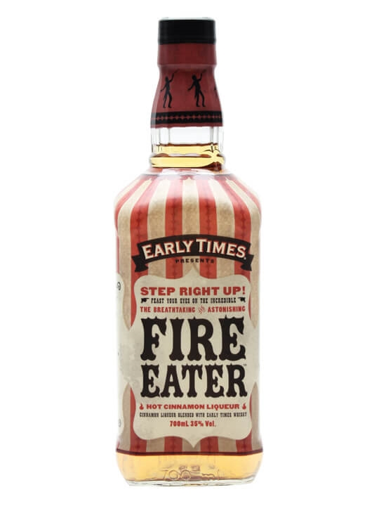 Early Times Fire Eater Hot Cinnamon Liqueur The Whisky