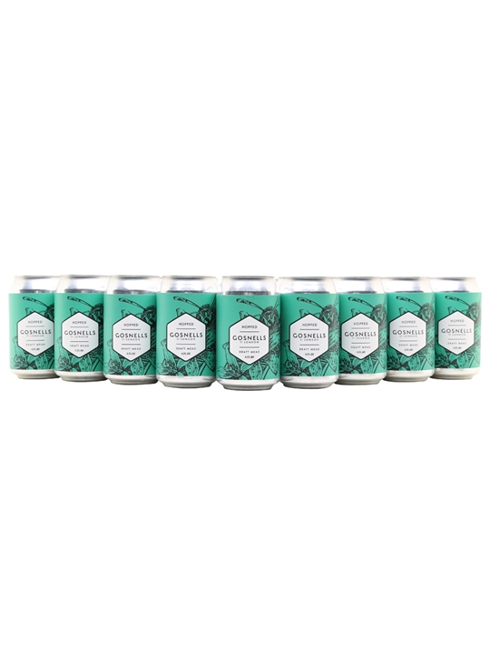 Gosnells Hopped Mead / Case of 24 Cans