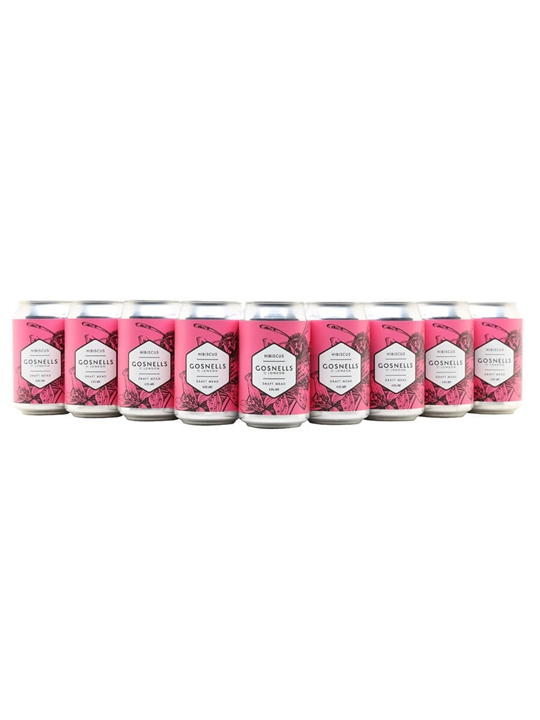 Gosnells Hibiscus Mead / Case of 24 Cans
