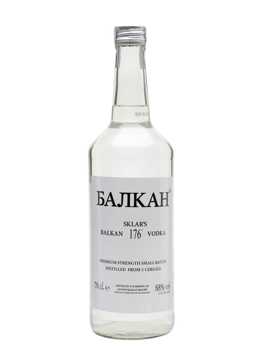Strongest Alcohol In The World >> Balkan 176 Vodka : Buy from World's Best Drinks Shop