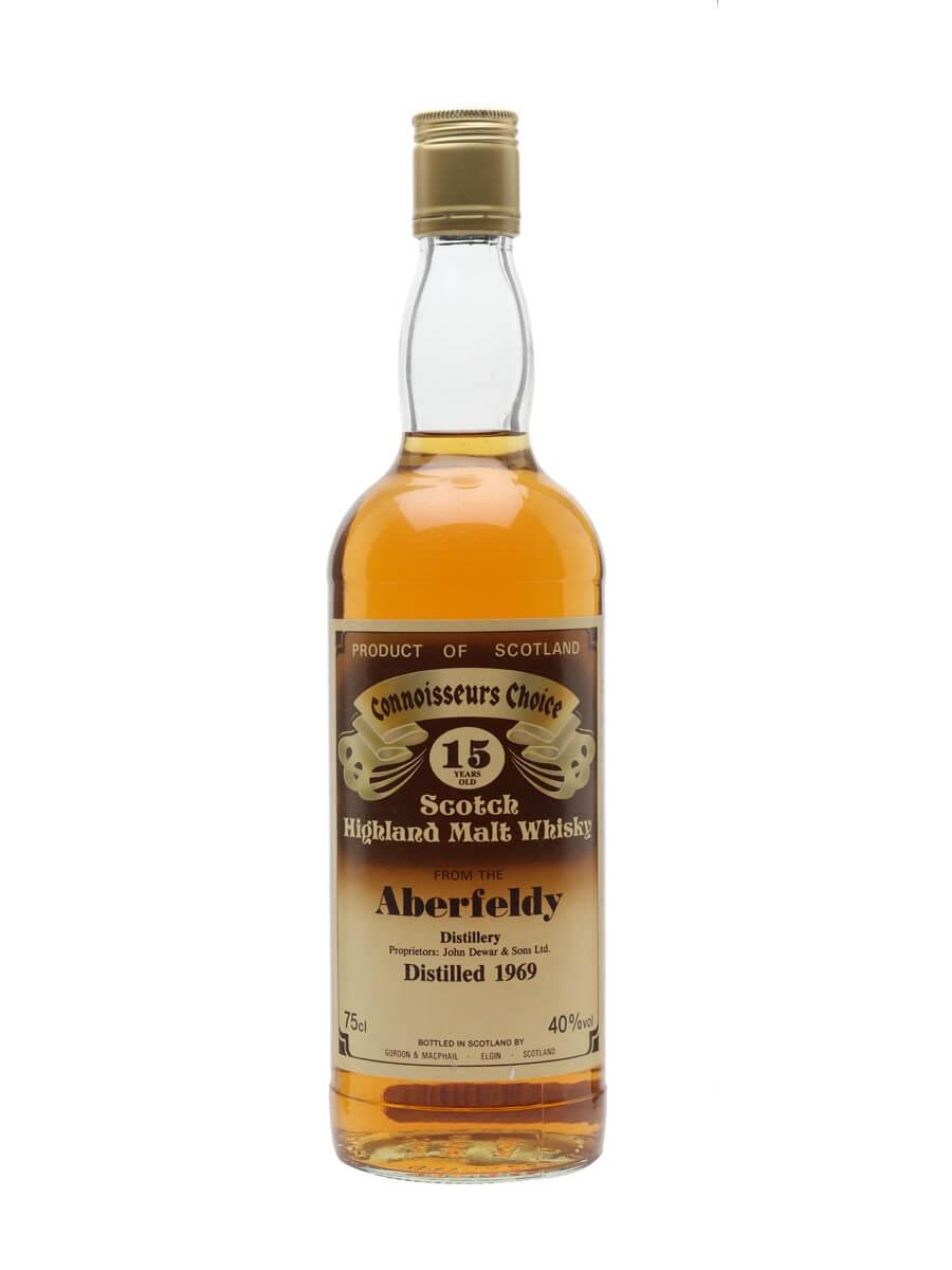 Aberfeldy 1969 / 15 Year Old / Connoisseurs Choice