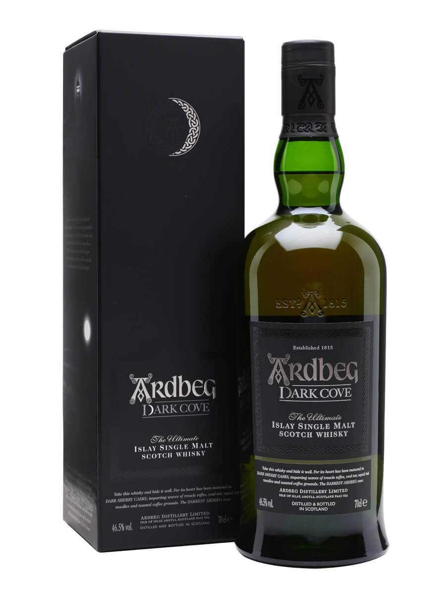 Image result for ardbeg dark cove