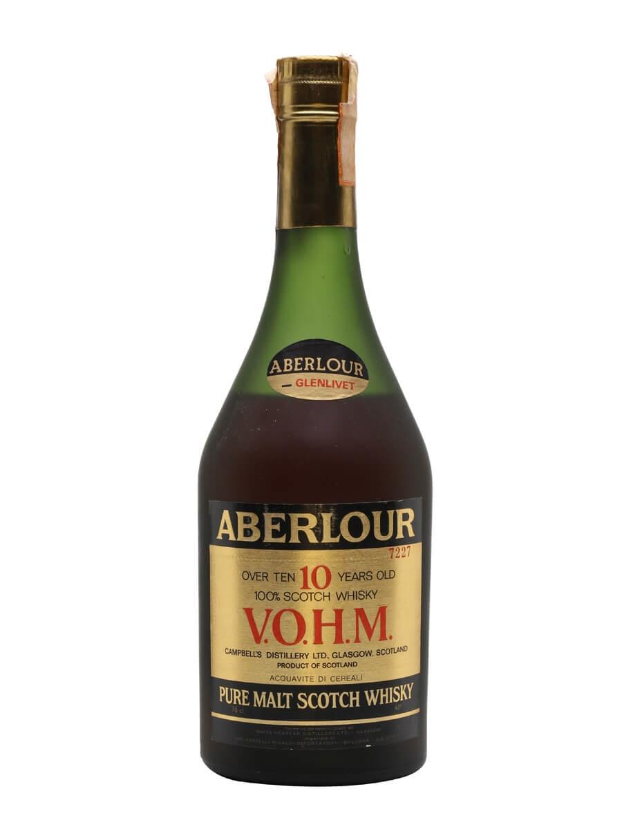 Aberlour-Glenlivet 10 Year Old / VOHM / Bot.1990s