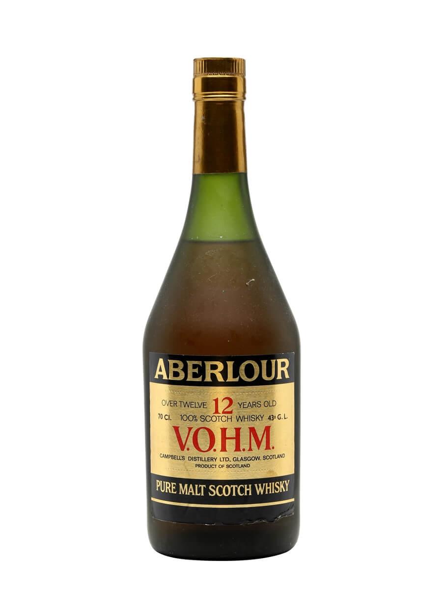 Aberlour 12 Year Old VOHM / Bot.1990s