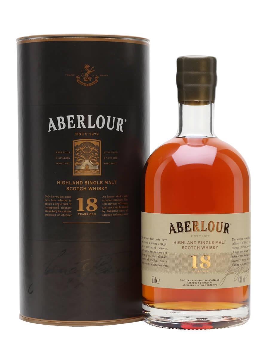 Aberlour 18 Year Old / Half Litre