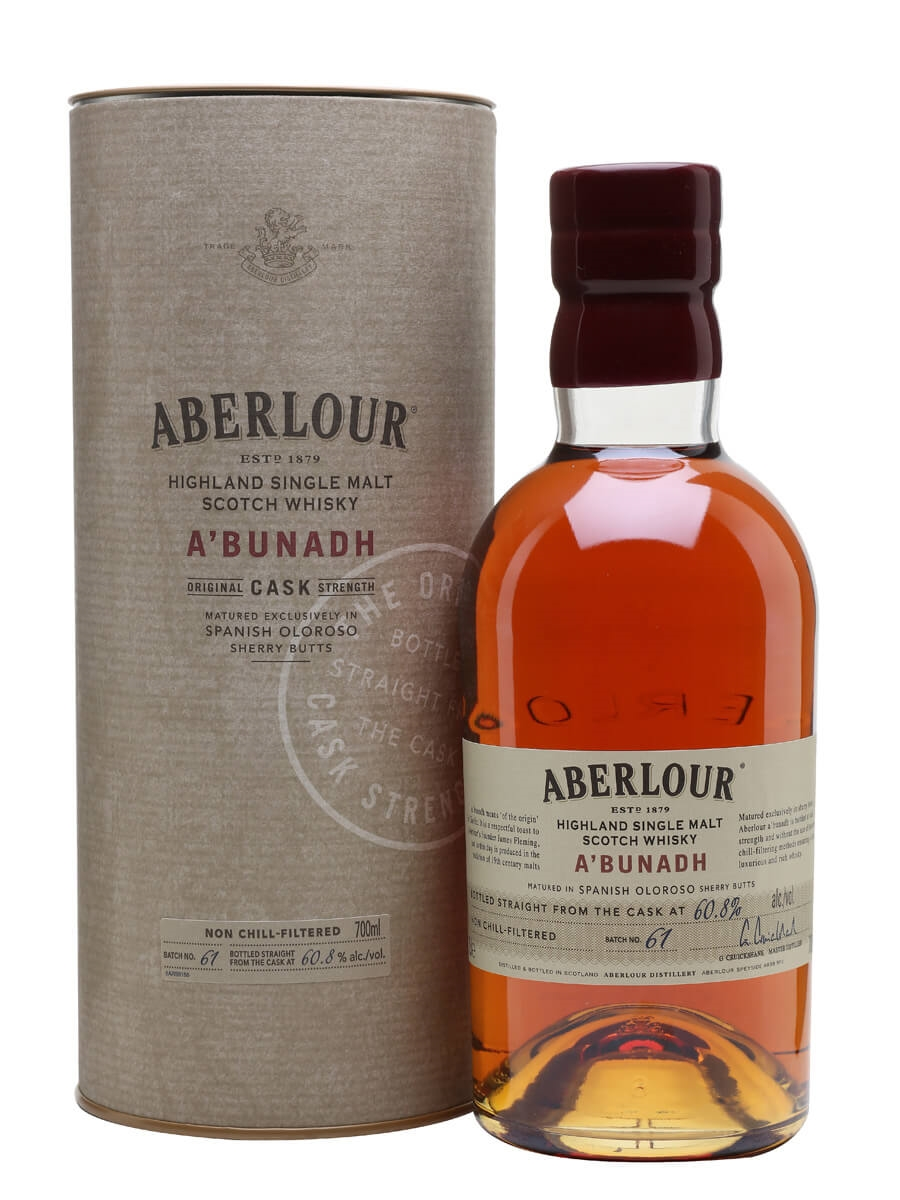Review No.184. Aberlour A'bunadh