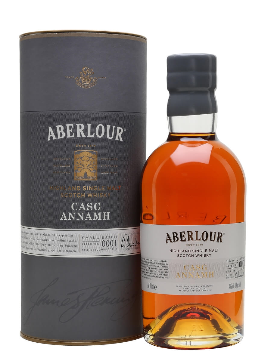 Review No.255. Aberlour Casg Annamh