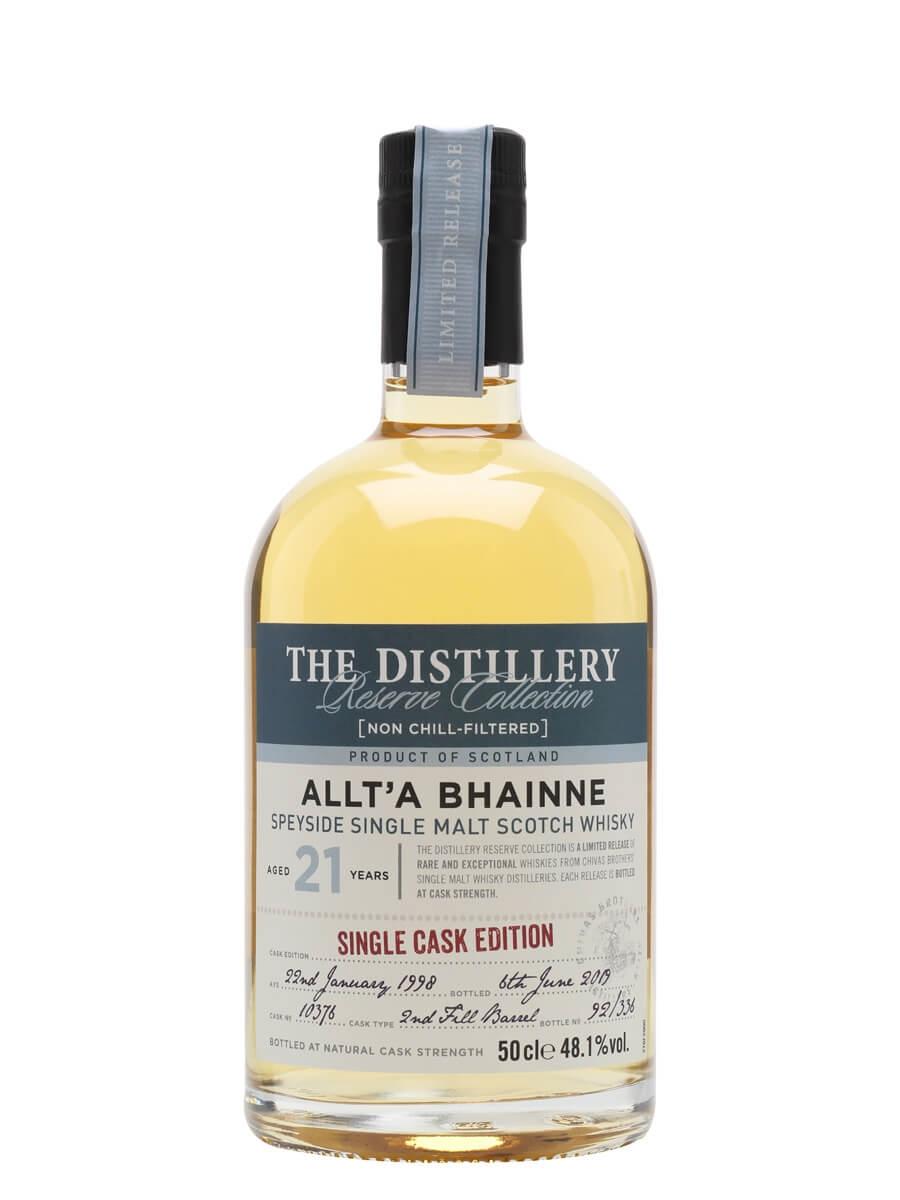 Allt-a-Bhainne 1998 / 21 Year Old / Distillery Edition