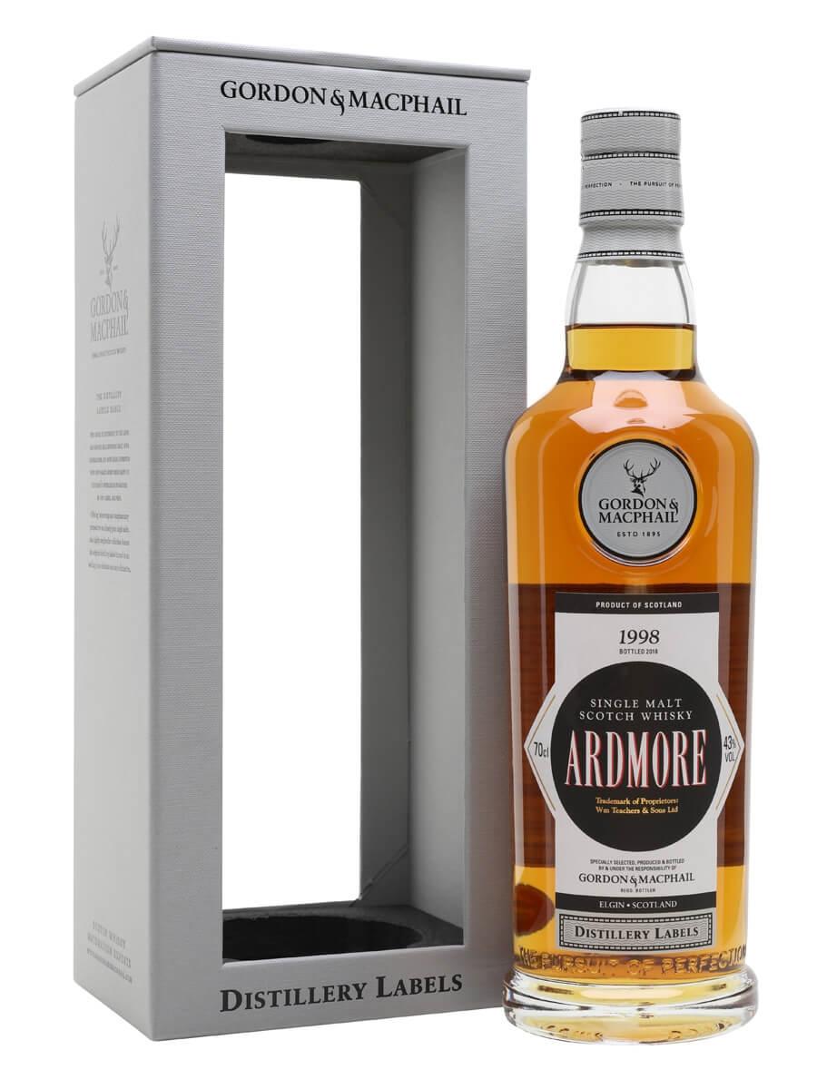 Ardmore 1998 / Bot.2018 / G&M Distillery Label