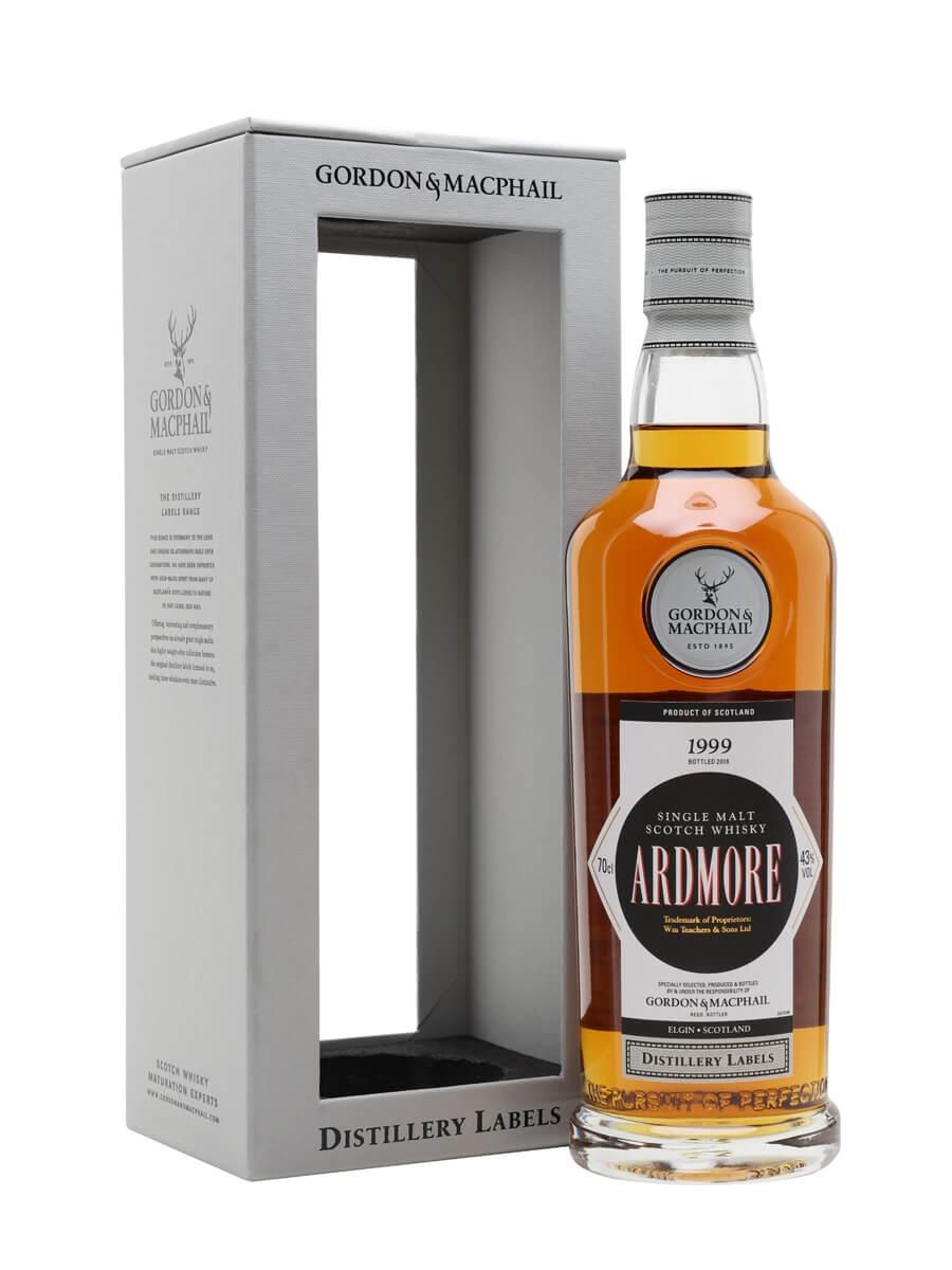 Ardmore 1999 / Bot.2018 / G&M Distillery Labels