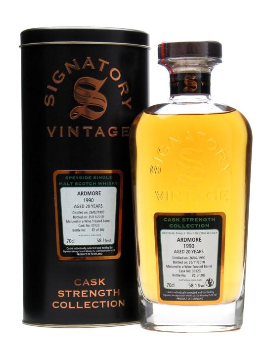 Ardmore 1990 / 20 Year Old / Cask #30123