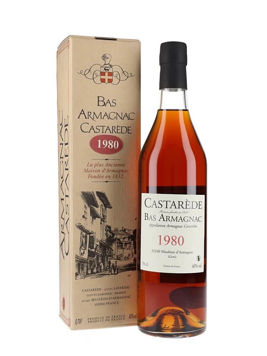 Castarede Bas Armagnac 1980