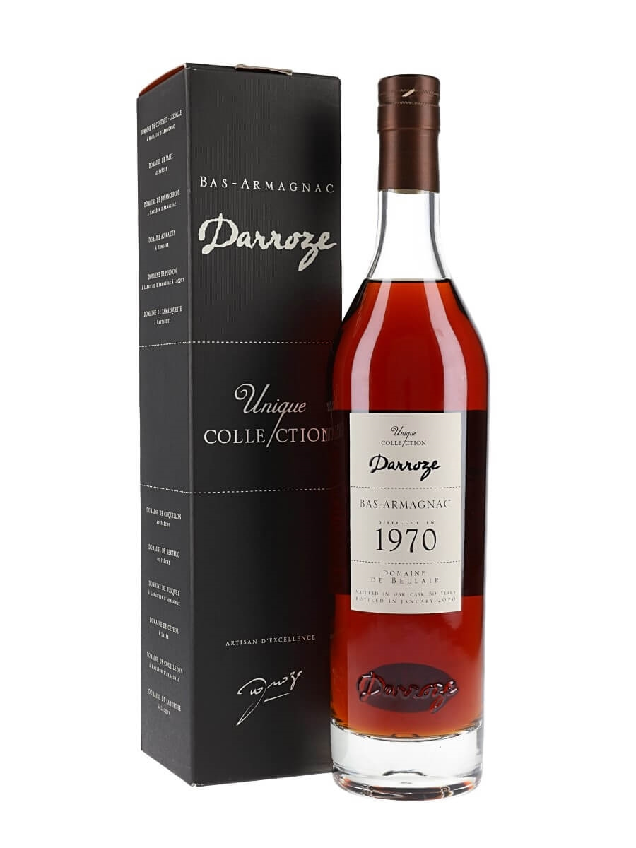 Domaine de Bellair 1970 Armagnac / 50 Year Old / Darroze