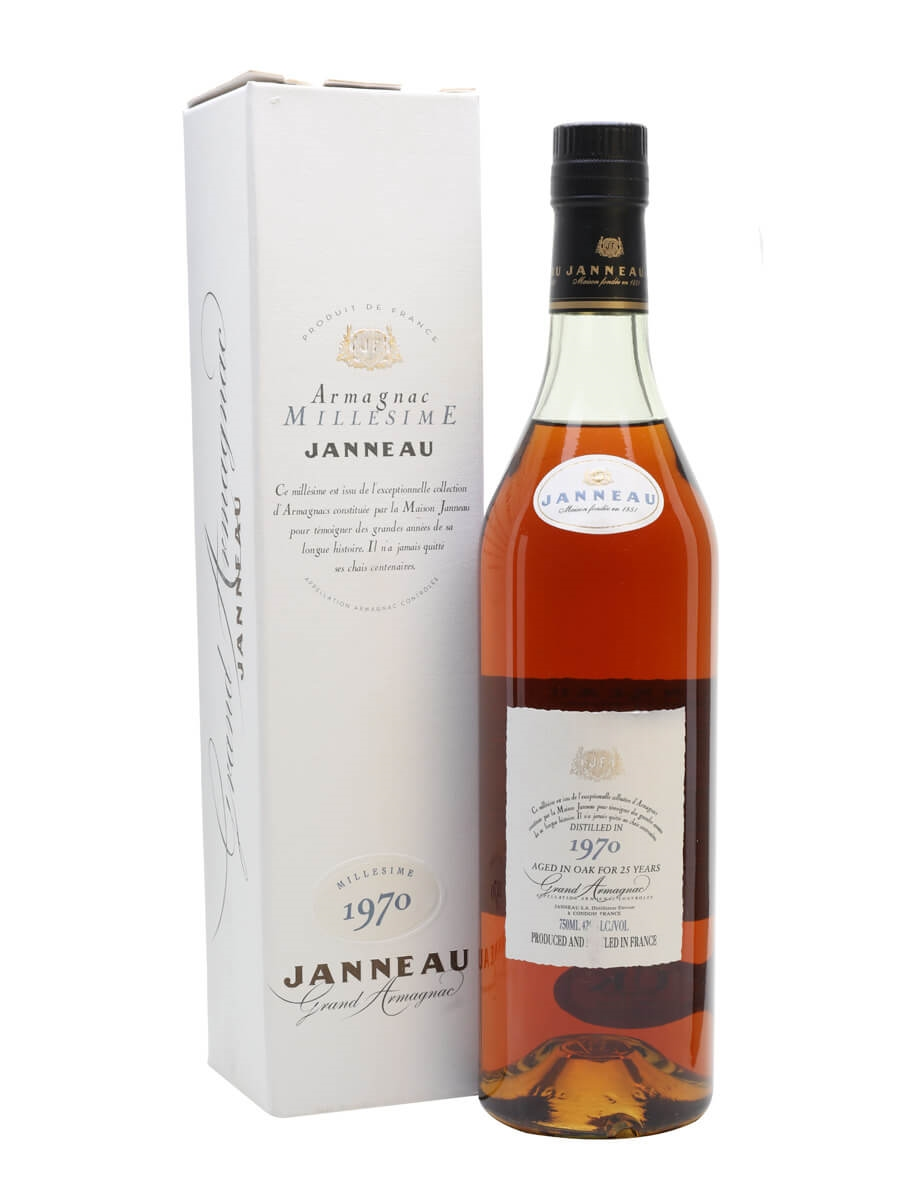 Janneau 1970 Grand Armagnac / 25 Year Old