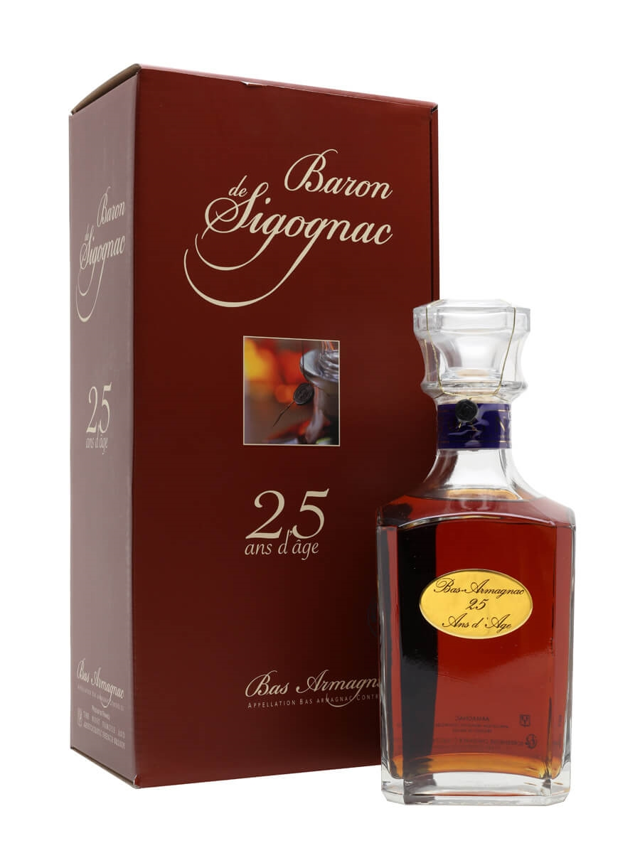 Baron de Sigognac 25 Year Old / Decanter