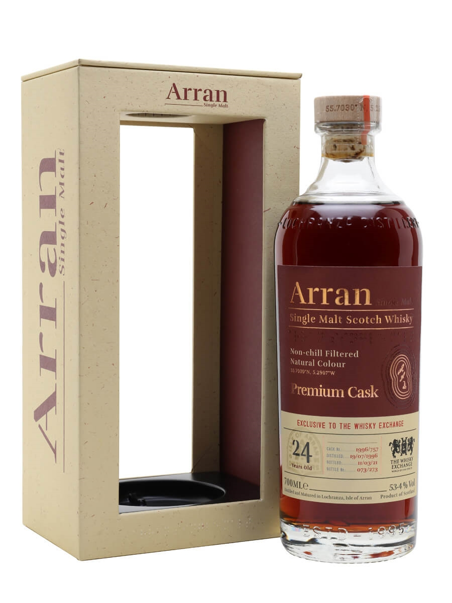 Arran 1996 / 24 Year Old / The Whisky Exchange