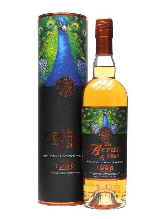 Arran 1996 / 12 Year Old / Peacock