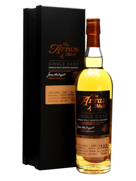 Arran 1996 / 17 Year Old / Bourbon Cask #538