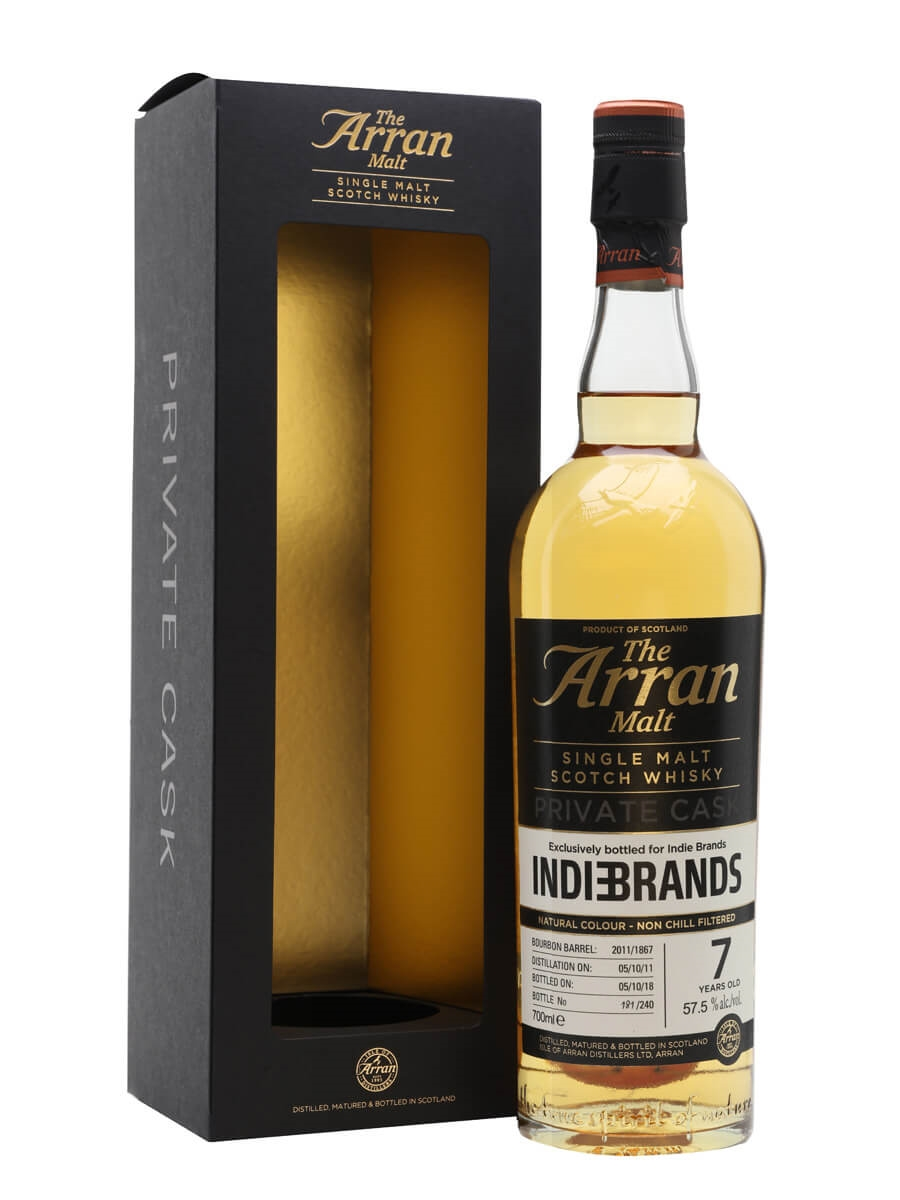 Arran Peated 2011 / 7 Year Old / Private Cask for Indie Brands