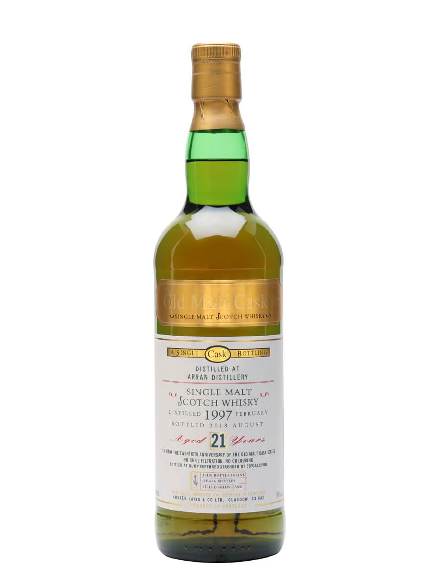 Arran 1997 / 21 Year Old / OMC 20th Anniversary Bottling