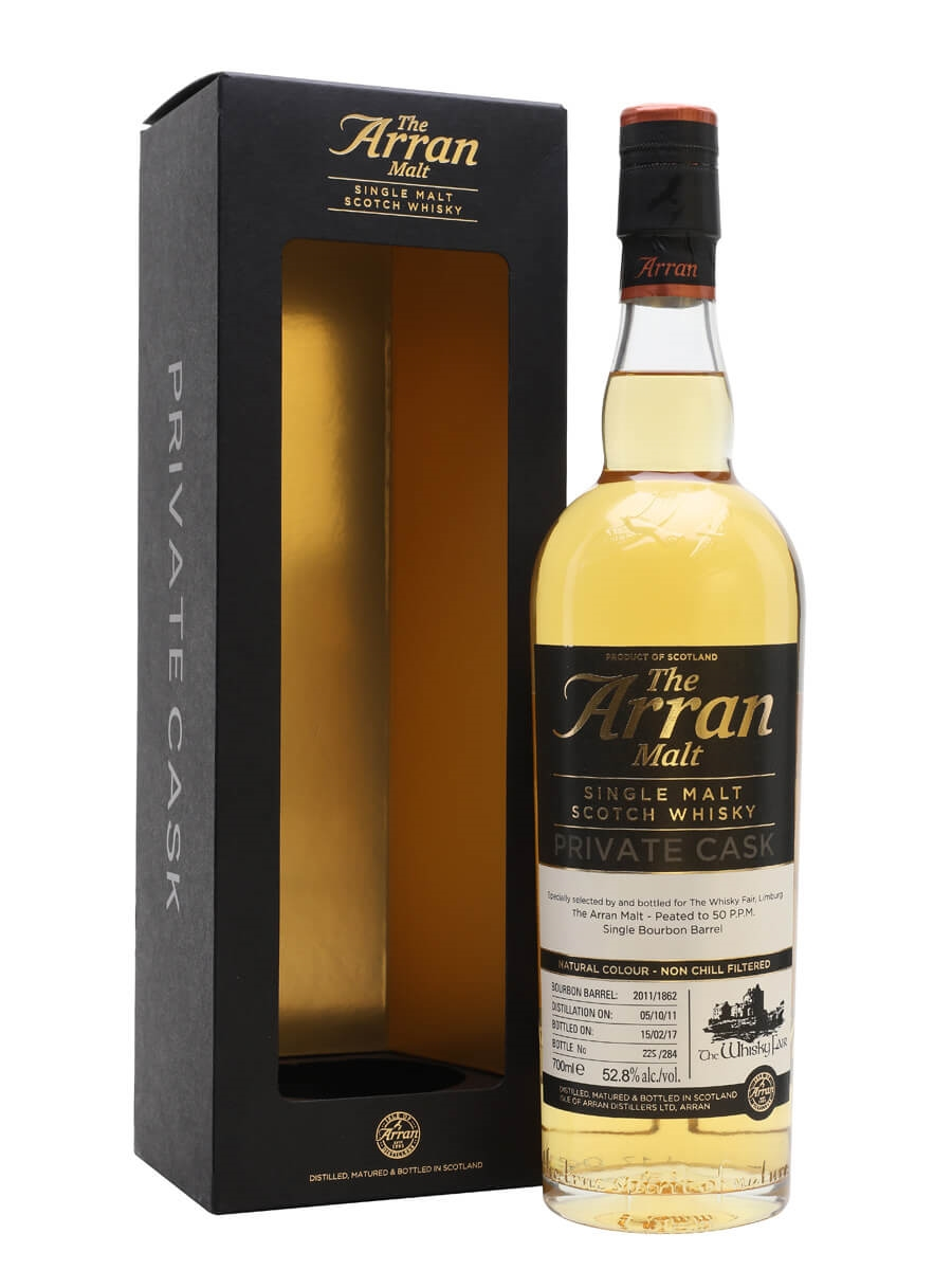 Arran 2011 / 5 Year Old / Peated / Whisky Agency