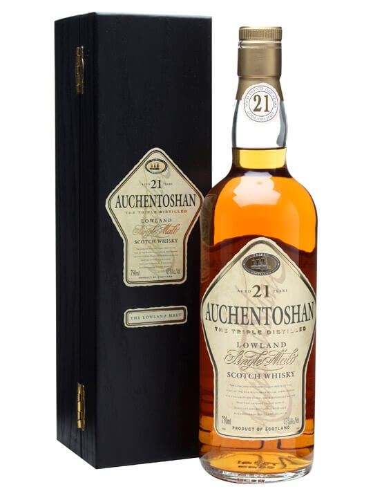 Auchentoshan 21 Year Old Scotch Whisky : The Whisky Exchange
