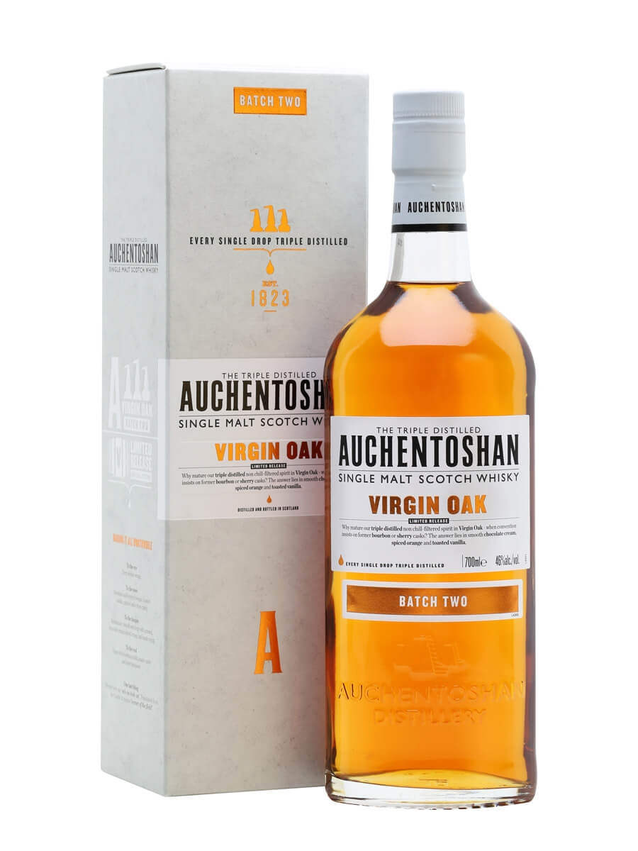 Auchentoshan Virgin Oak / Batch Two