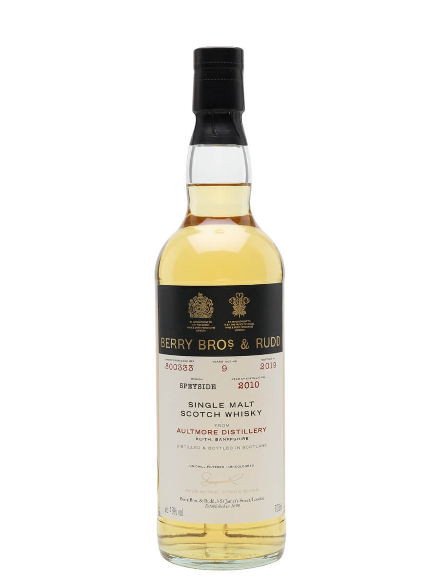 Aultmore 2010 / 9 Year Old / Berry Bros & Rudd