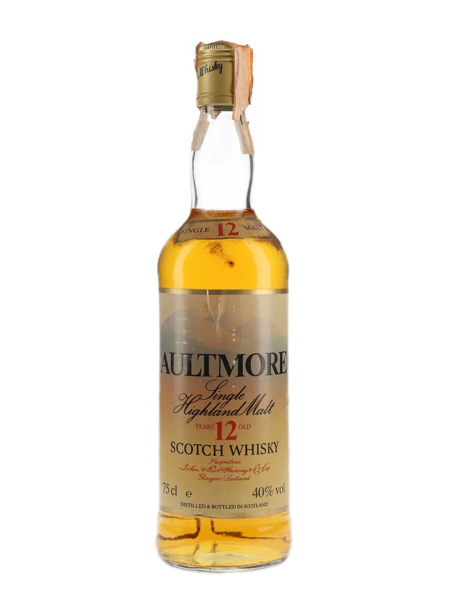 Aultmore 12 Year Old / Bot.1980s