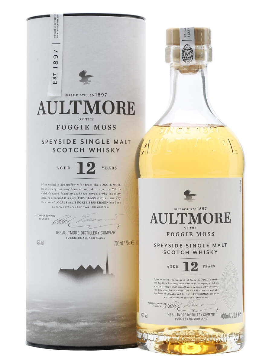 Review No.123. Aultmore 12 Year Old