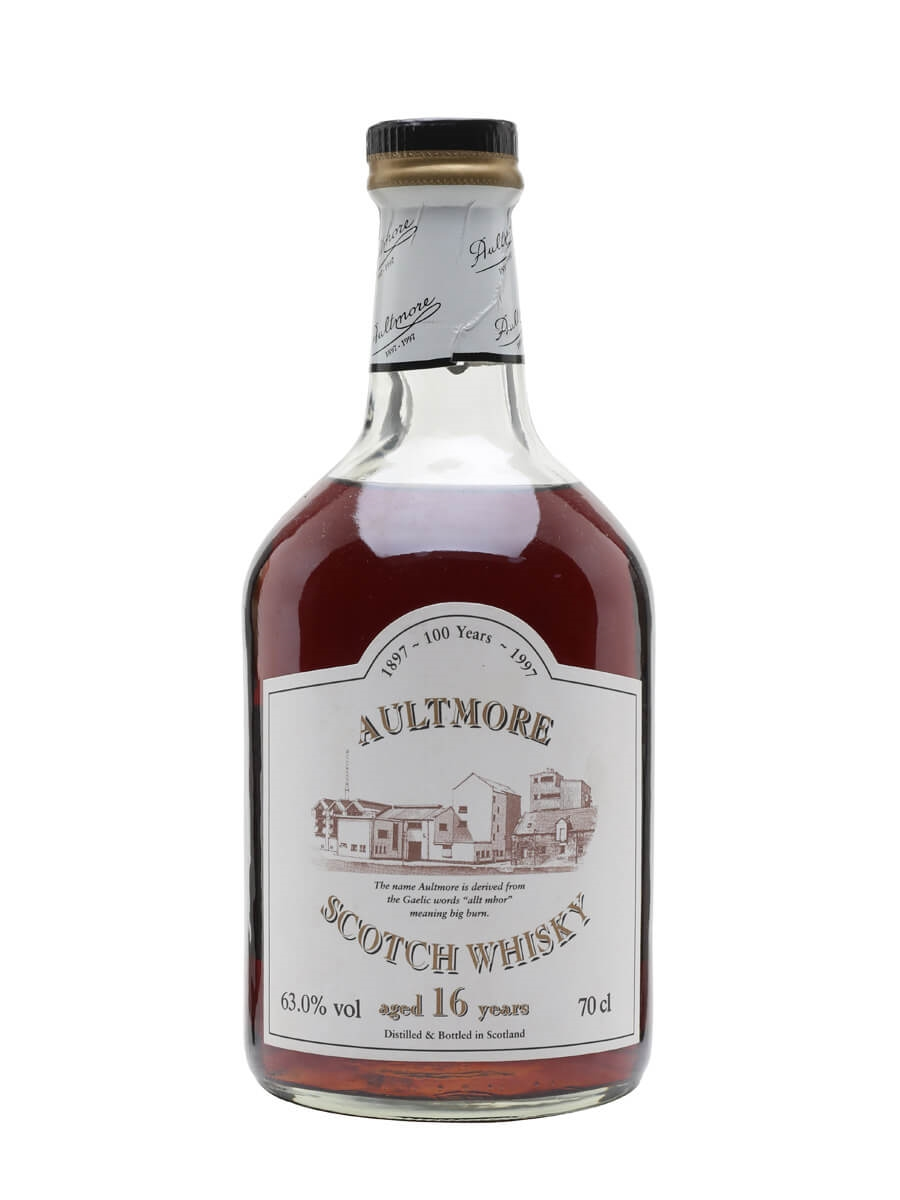 Aultmore 16 Year Old / Centenary / Sherry Cask