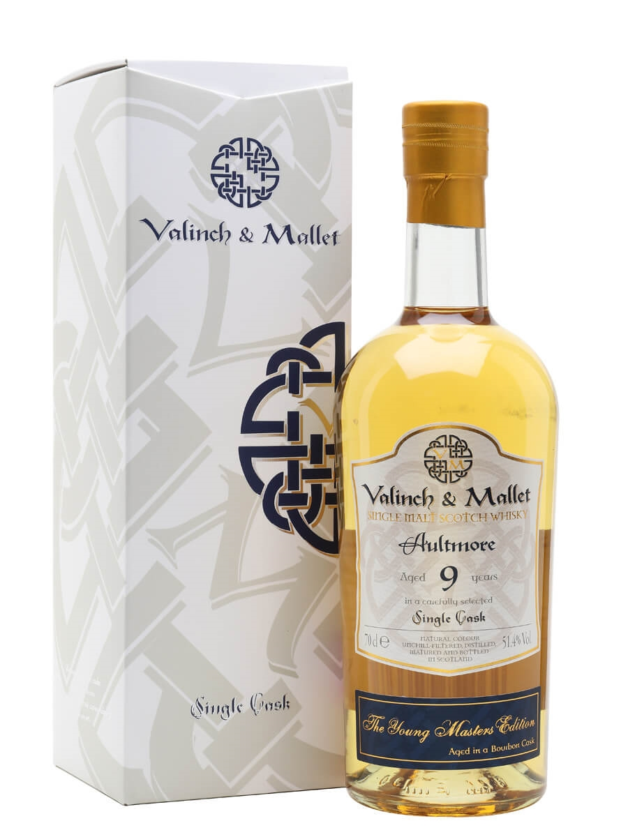 Aultmore 2010 / 9 Year Old / Valinch & Mallet