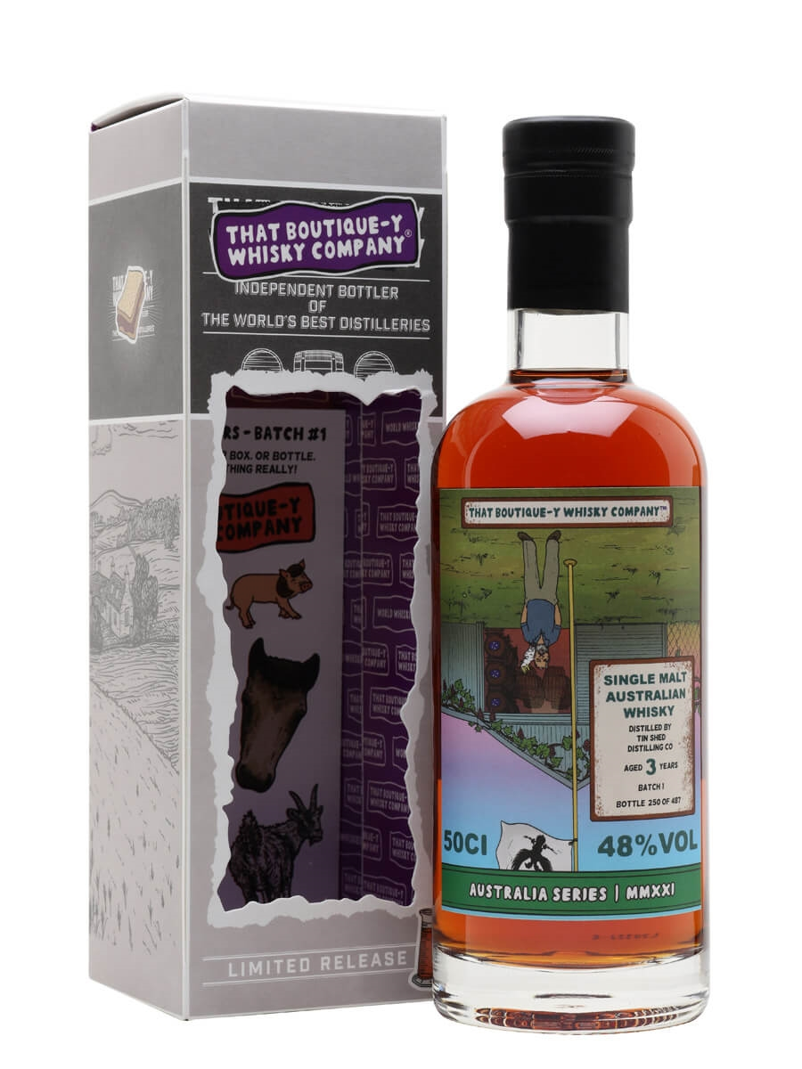 Tin Shed Distilling Co Batch 1 / 3 Year Old / TBWC Australian Series