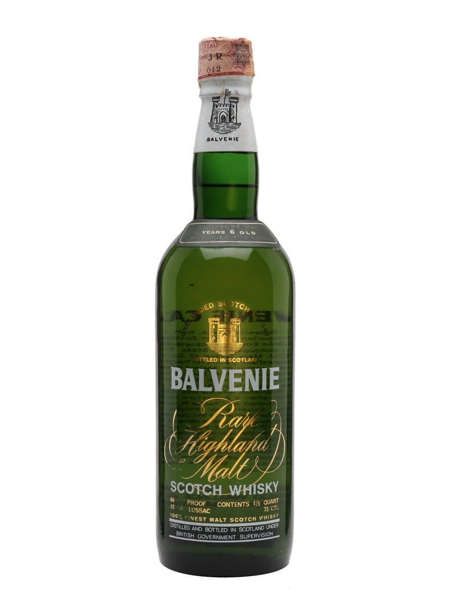 Balvenie 6 Year Old / Made Specially for Ladies