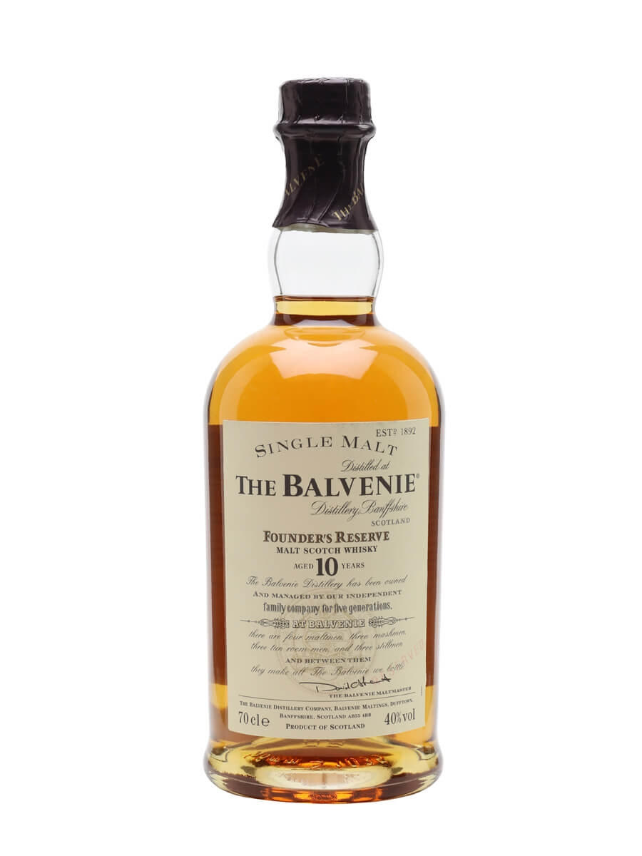 Balvenie 10 Year Old / Founder's Reserve
