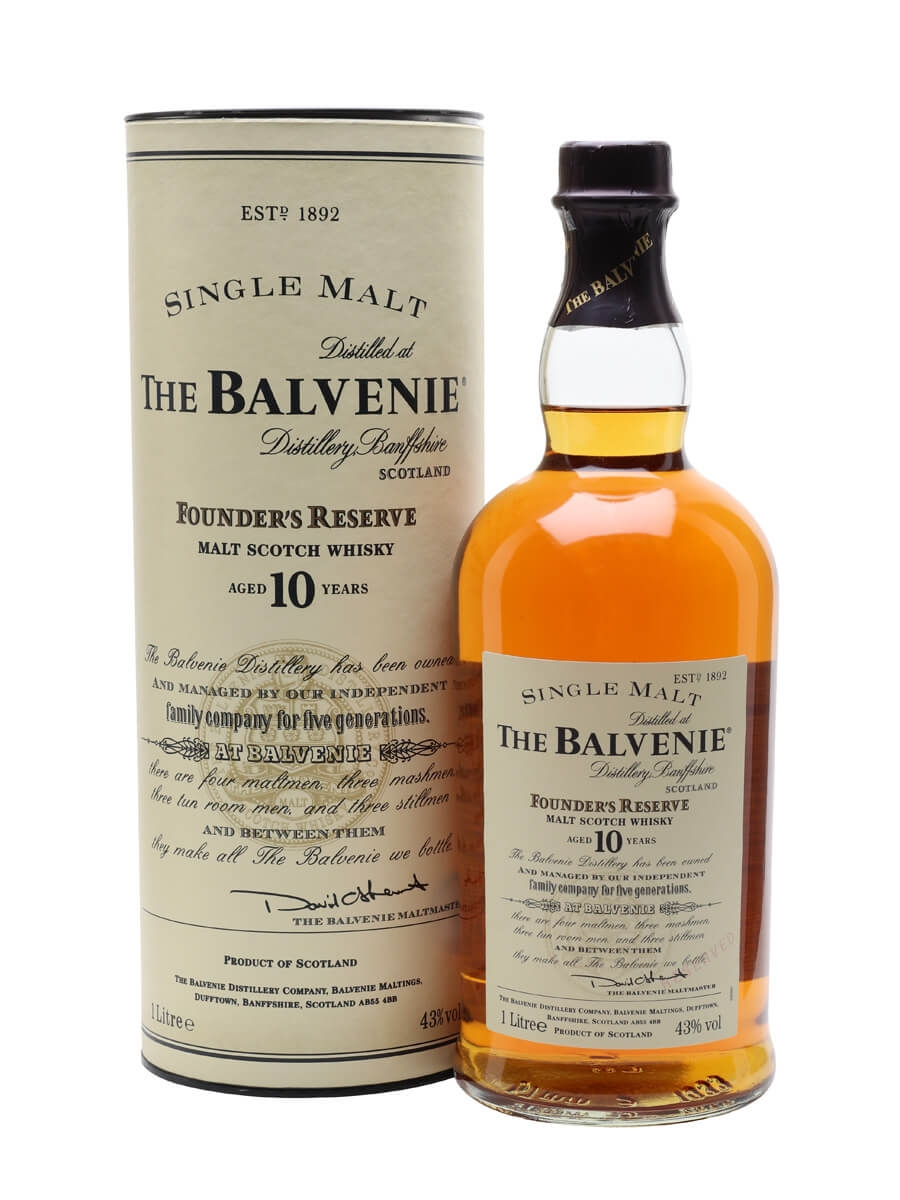 Balvenie 10 Year Old / Founder's Reserve