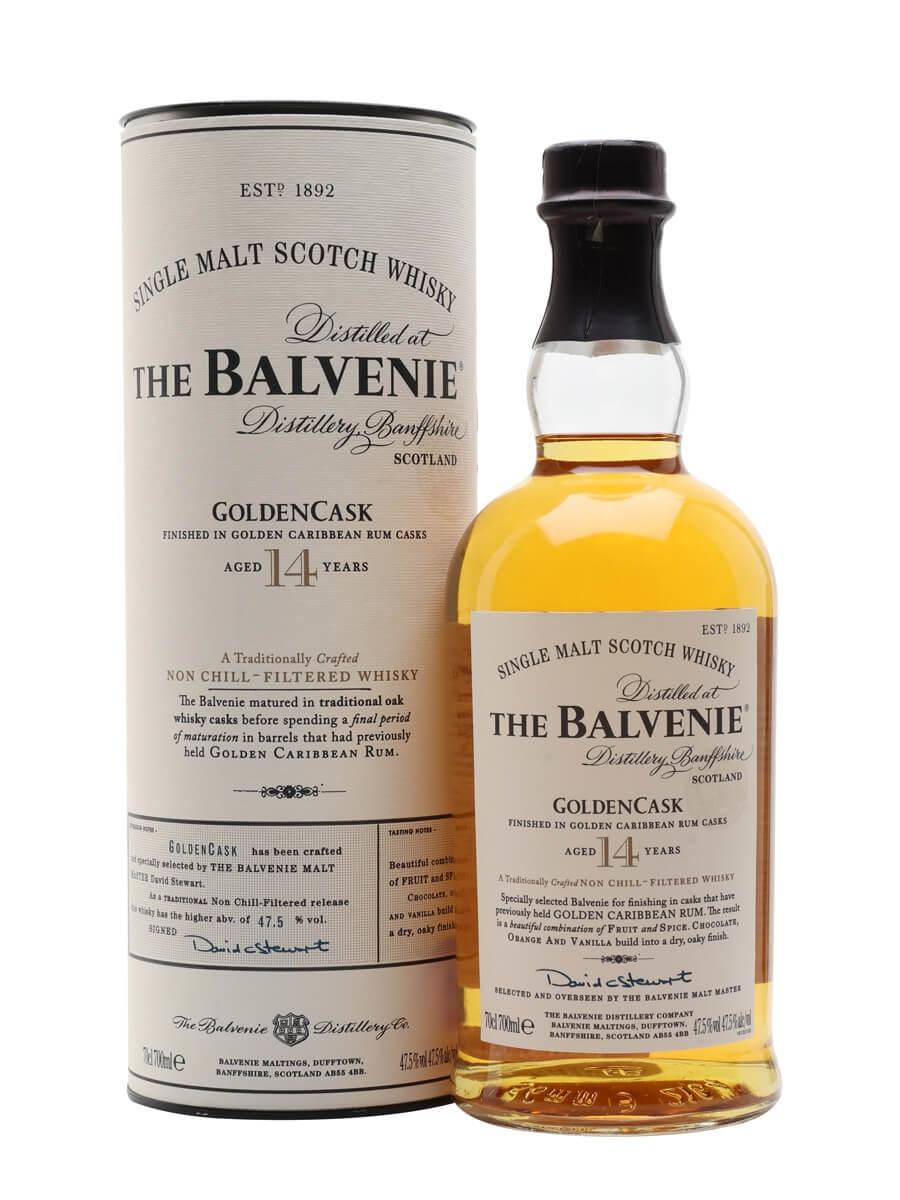 Balvenie 14 Year Old / Golden Cask Rum Finish