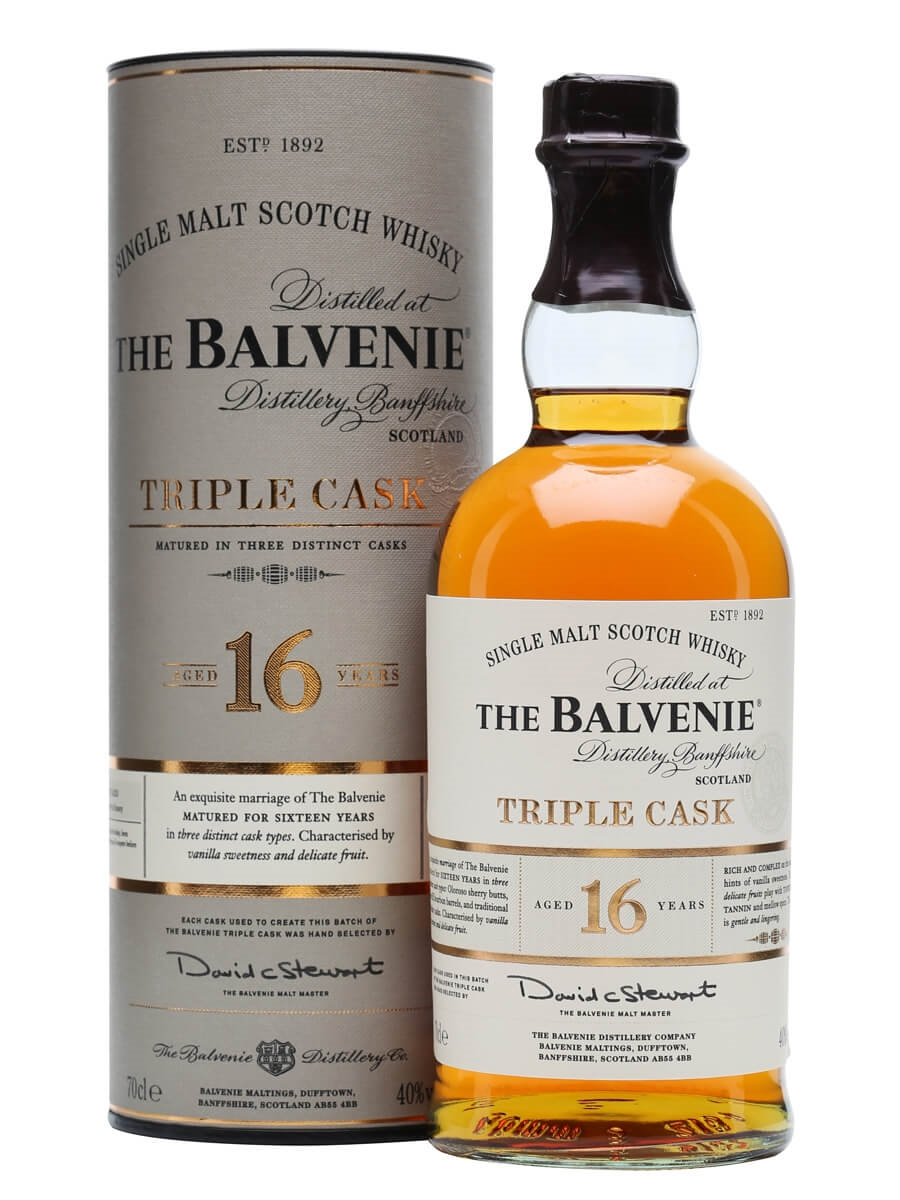 Balvenie 25 years Triple Cask Batch no.1