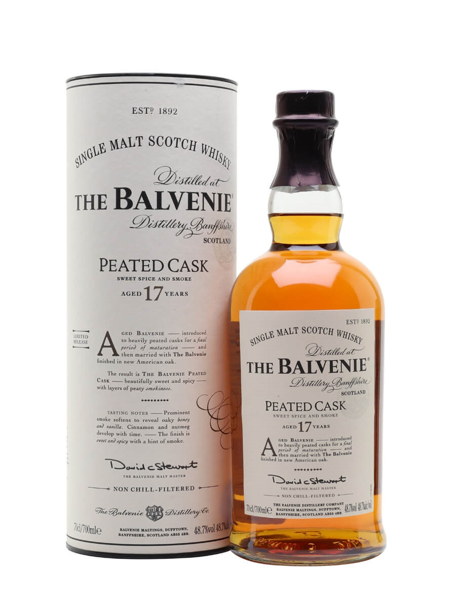Balvenie 17 Year Old / Peated Cask