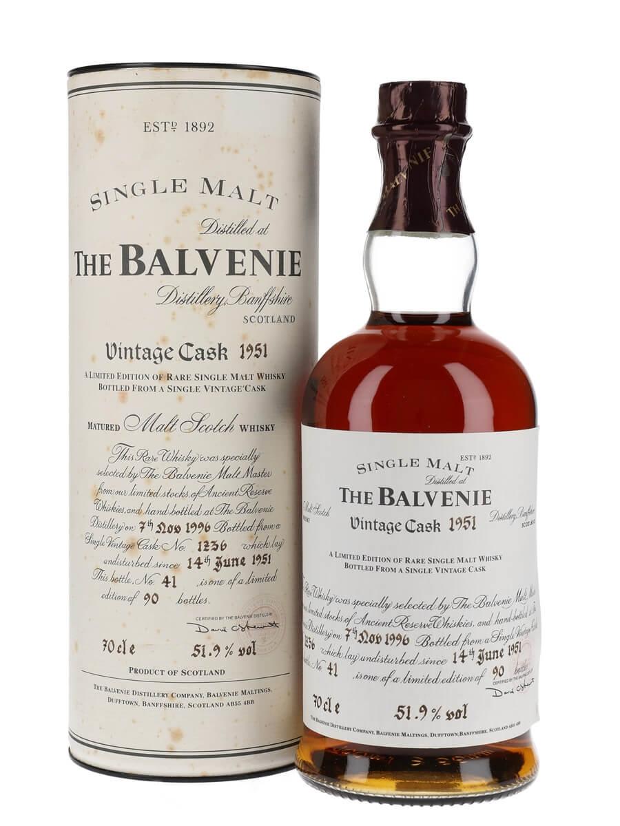 Balvenie 1951 / 45 Year Old