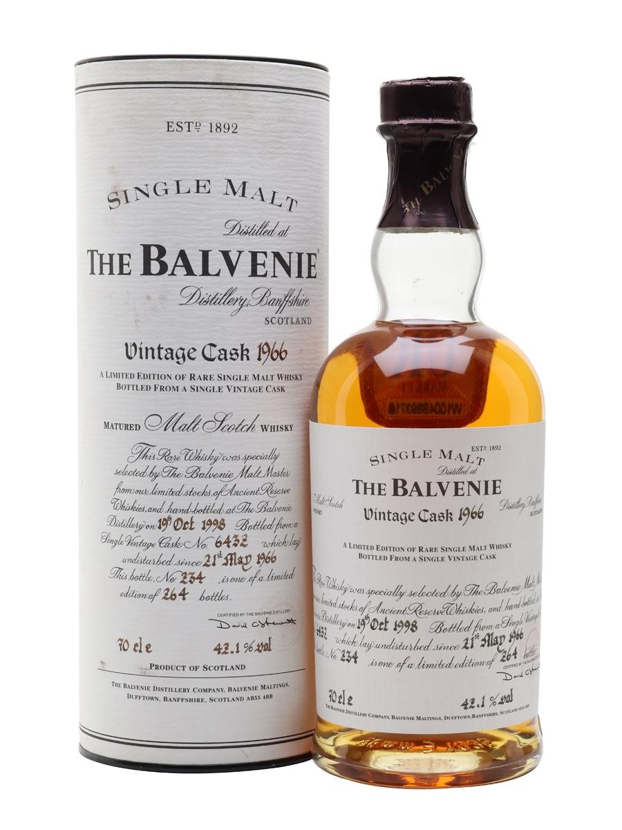 Balvenie 1966 / 32 Year Old / Cask #6432